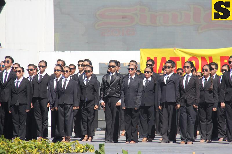 Cebu Dancesports Team performs during the Sinulog 2016