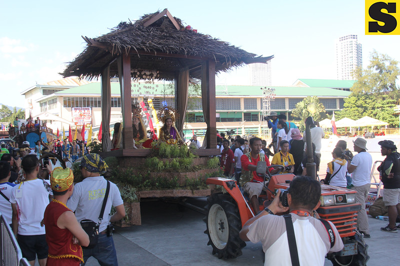 Team Ninos float during Sinulog 2016