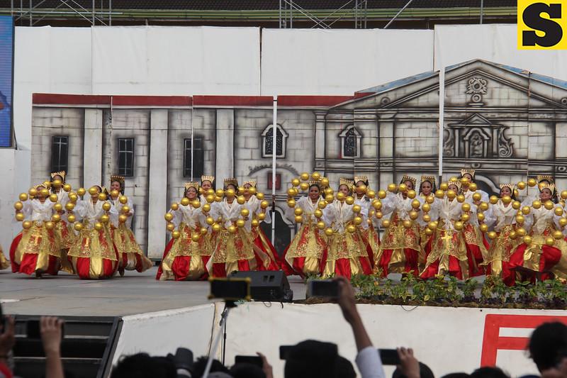 Apas National High School - Sinulog sa Kabataan sa Dakbayan 2016 contingent