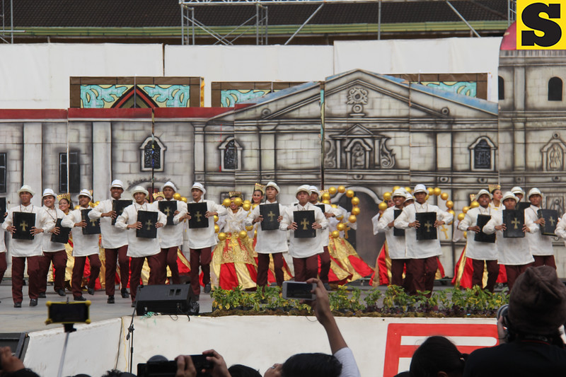 Apas National High School - Sinulog sa Kabataan sa Dakbayan 2016 contingent