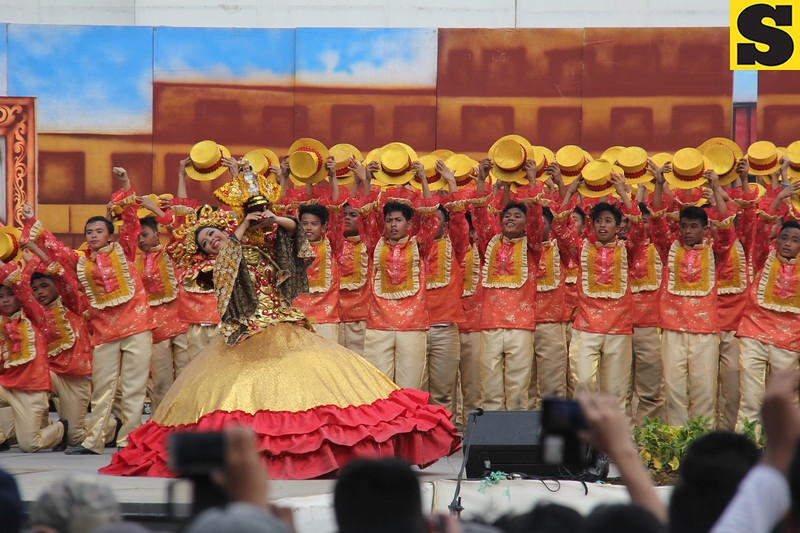 Pundok Bulacaonon sa Sugbo-Bulacao Community High School - Sinulog sa Kabataan sa Dakbayan 2016 contingent
