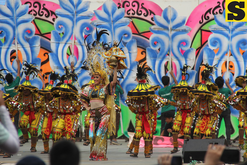 Don Sergio Osmena Sr. Memorial National High School - Sinulog sa Kabataan sa Dakbayan 2016 contingent