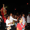 Sto Nino carried during Walk with Jesus