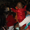 Sto Nino attending the Opening Salvo mass