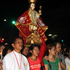 Sto Nino image carried during Walk with Jesus 2016