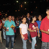 Devotees joing Walk with Jesus