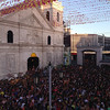 Opening Salvo mass crowd at Sto Nino church
