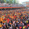 Sto Nino devotees waiting for blessing