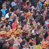 People carrying Sto Nino images