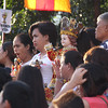 Family with their Sto. Nino image during Opening Salvo mass