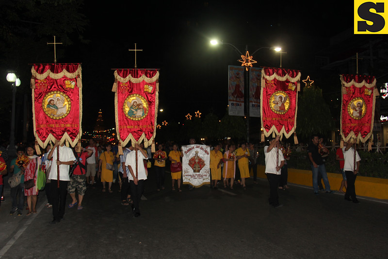 Head of the procession at Fuente Osmena