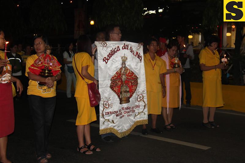 Members of Cofradia  del Sto Nino de Cebu mother chapter