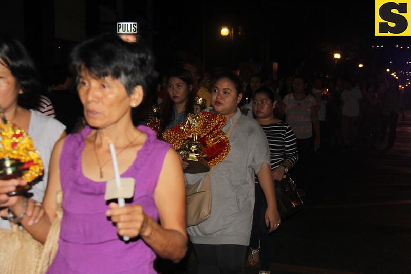 Devotees join Walk with Jesus
