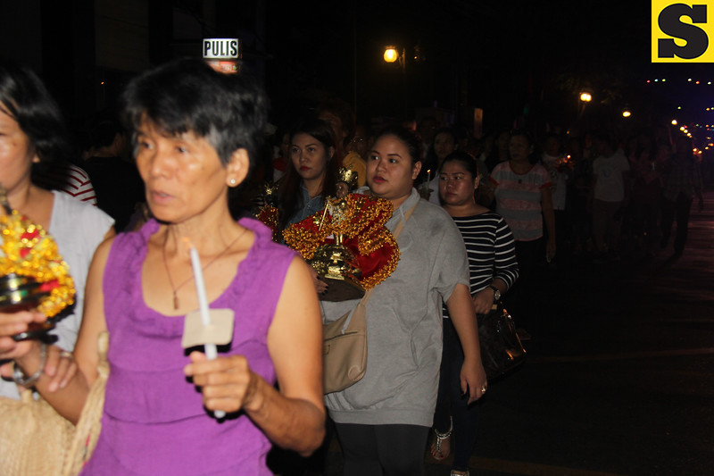 Devotees join Walk with Jesus
