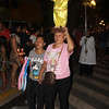 Devotee carrying Sto Nino statue