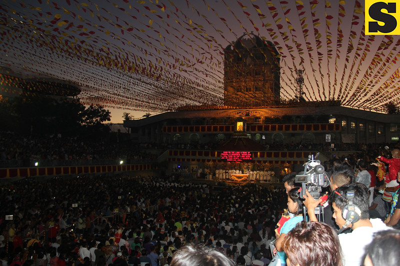 Sto Nino Pilgrim Center at dawn