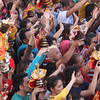 Sto Nino devotees attend Opening Salvo mass