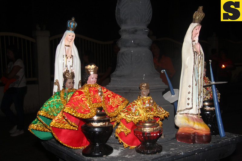 Images of Sto. Nino and Our Lady of Guadalupe