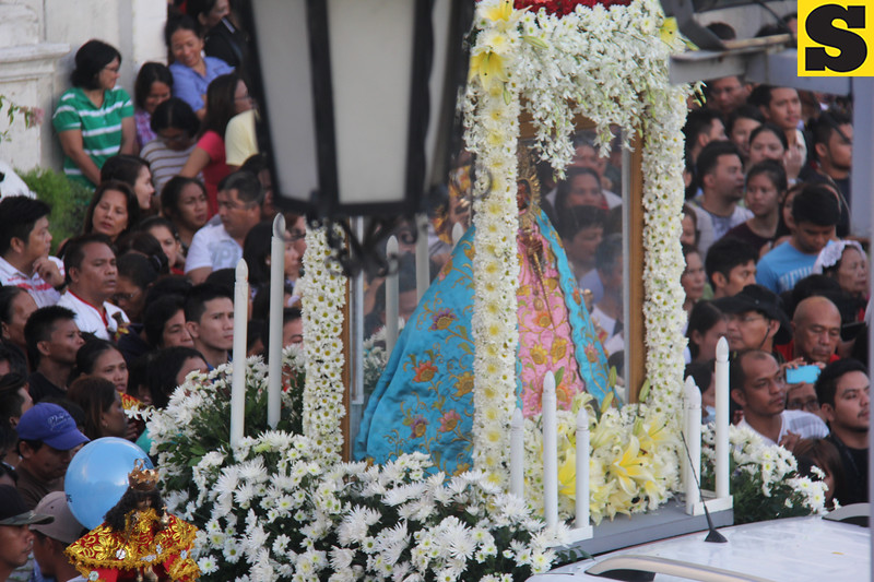 Our of Lady of Guadalupe at Basilica Minore del Sto. Nino