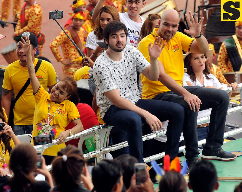 Dionisia Pacquiao and Benjie Paras join Sinulog 2017