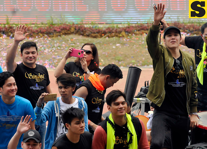 Gabby Concepcion and Tommy Esguerra join Sinulog 2017