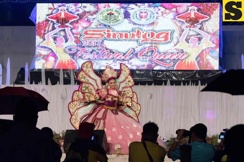 Shyna S. Daclan of Barangay Sambag Uno (Courtesy: Amado Cabaero)