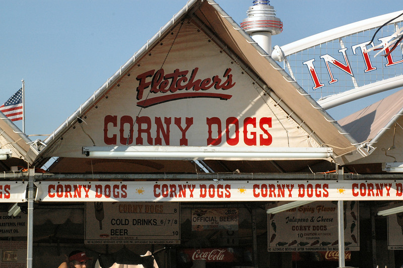 "Fletcher's Famous Corny Dogs.  (Just ""corn dogs"" everywhere else)"