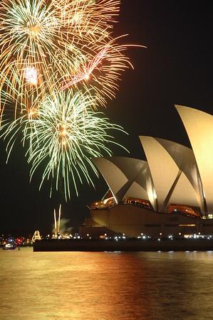 New years eve, Sydney 2004/05