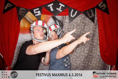 MCA Denver | Festivus Maximus | 06.03.16