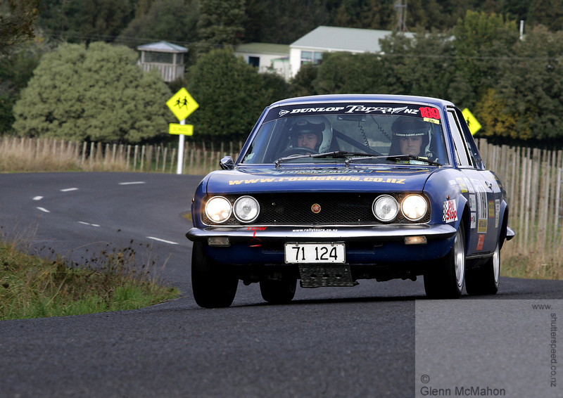 Greg Paul Fiat 124 BC Coupe