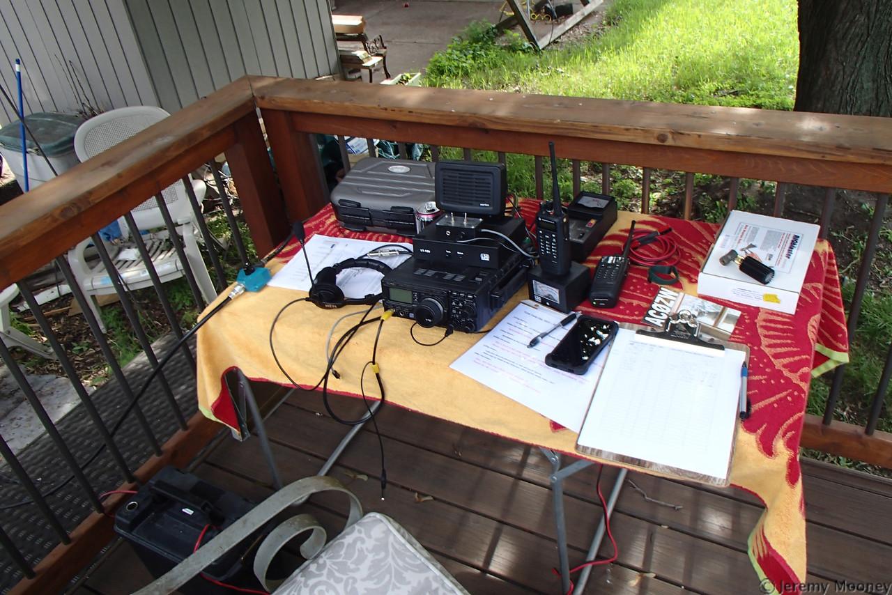 KE0NA (TC Doers) Field Day - FD station