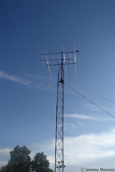 W0MR/K0AGF Field Day - VHF antenna