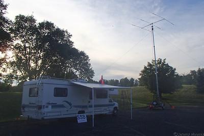 W0MR/K0AGF Field Day - SSB station