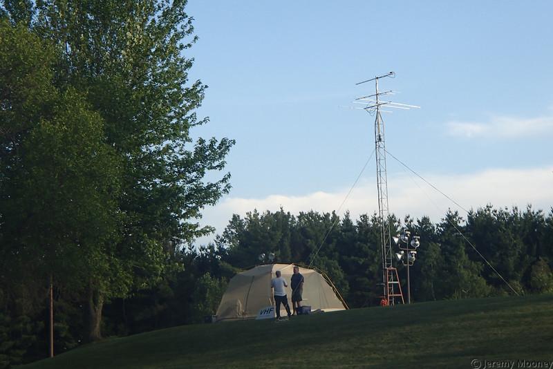 W0MR/K0AGF Field Day - VHF station