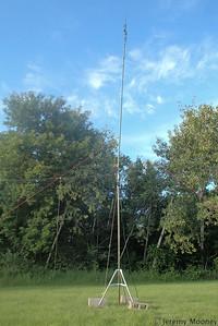 W0MR/K0AGF Field Day - GOTA antenna