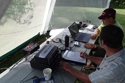 W0JH Field Day - CW station