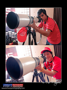 Canon Photo Marathon 2011 Vigan City By Erree's Photography (Ernie Mangoba) dennis and Kelly with 800mm lens