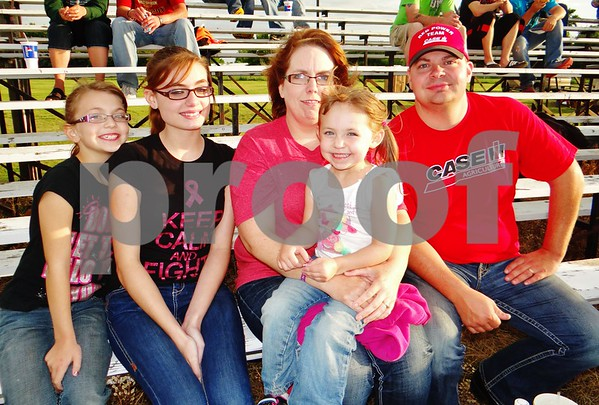 Adam, Brandi, Karlee, Faith and Madalyn Kahler