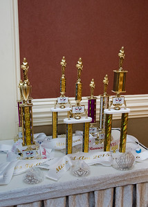 2015 FilAm Coronation Sashes & Trophies