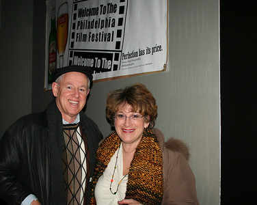Steve and I at the Opening night party. We didn't like that first film, but we saw many winners from that night on!