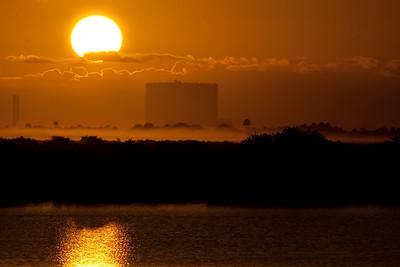 VAB at dawn