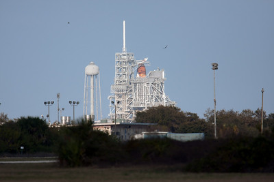 Final flight of Space Shuttle Discovery. Feb 24, 2011. T-60 seconds.