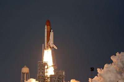 Final flight of Space Shuttle Discovery. Feb 24, 2011.