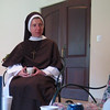Sister Clare Marie, sister of my classmate, Fr. Rick Chenault.