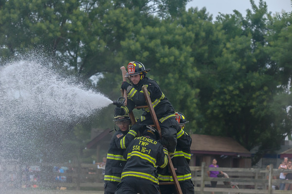 Fire Fighter Competiton - Monmouth County Fair '14