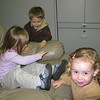 2/17/2010 - Molly is finally getting out of the chair so Robrt and Addie can take a turn...