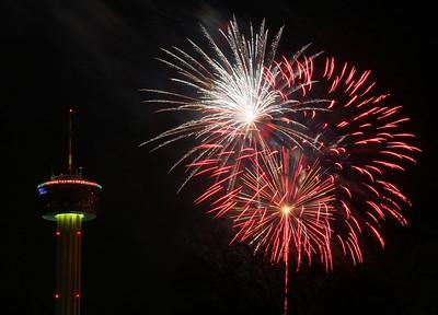 New Years San Antonio Tx.  2009