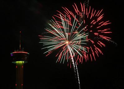 San Antonio Tx.  New Years 2009