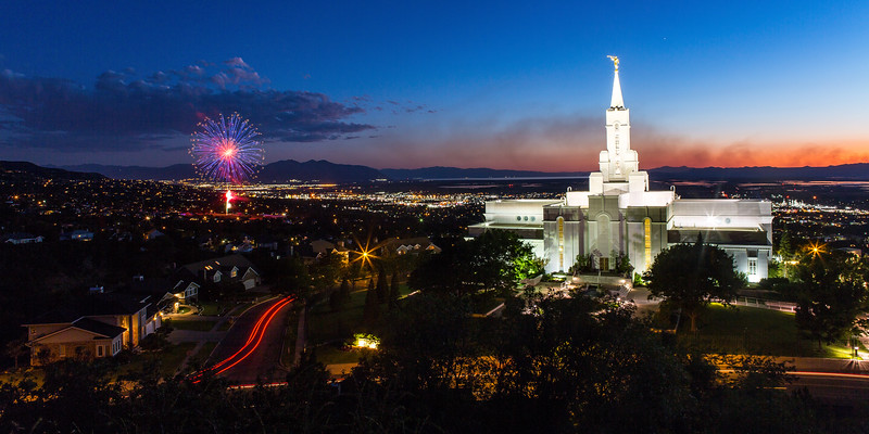 The Temple, the Fireworks, and the Fire, 2016