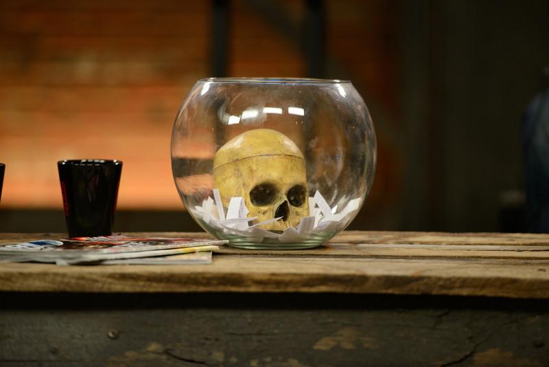 """The """"dead air"""" jar"""